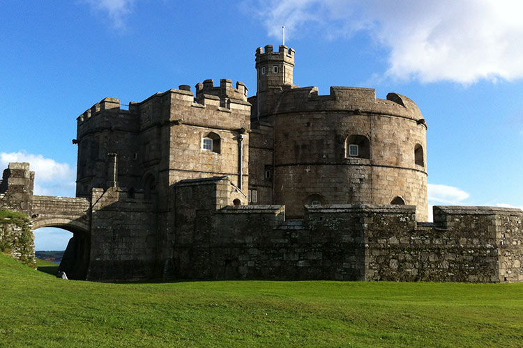 Pendennis Castle Image supplied by English Heritage