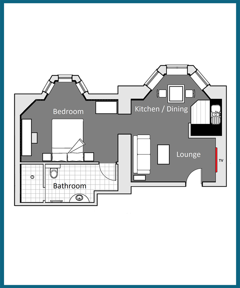 Keynvor Suite Floor Plan