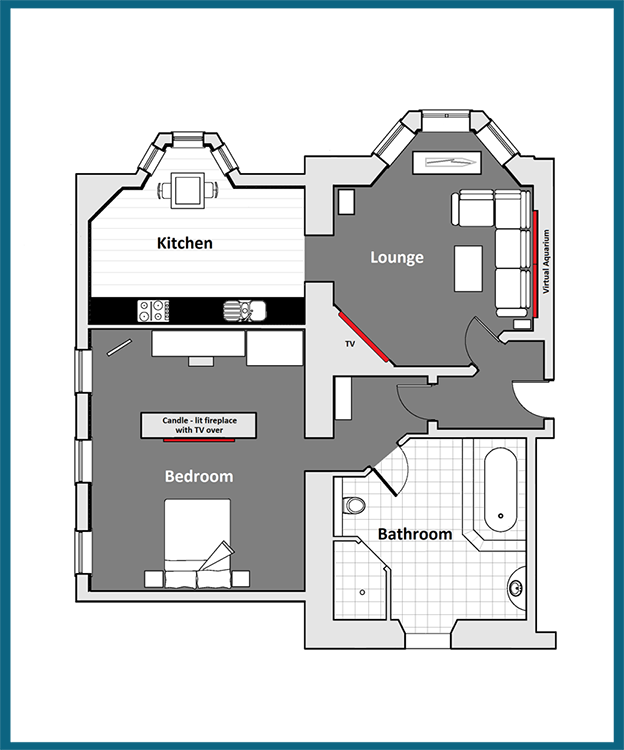Morvoren Suite Floor Plan