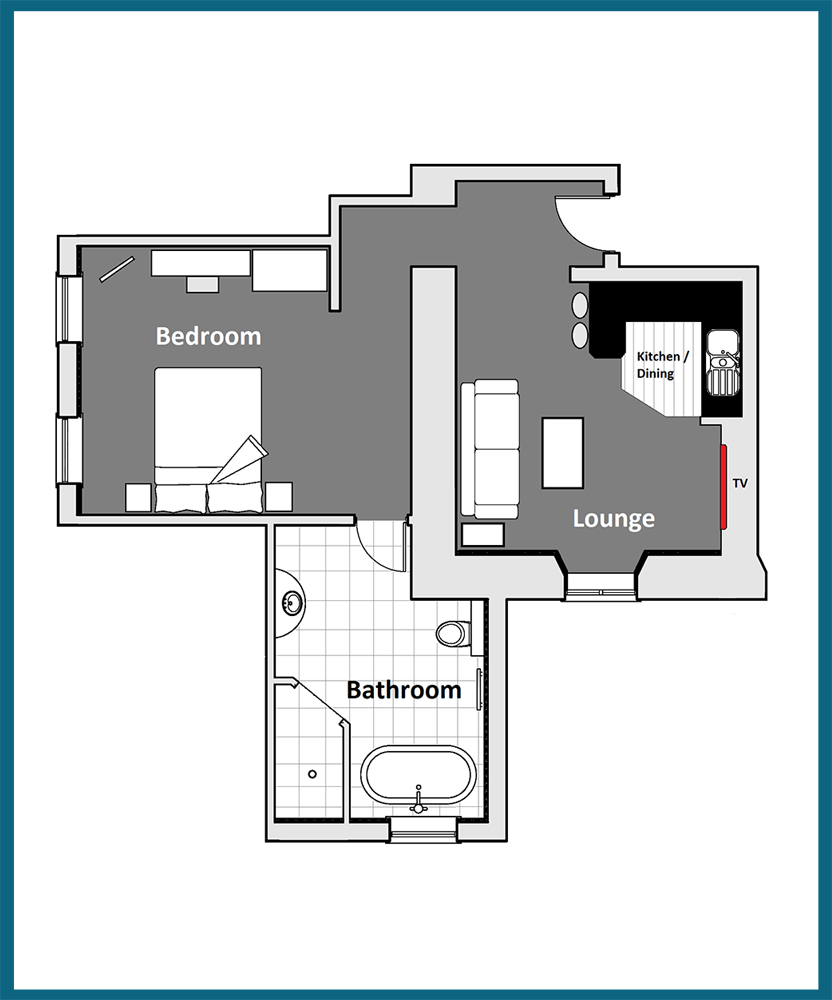 Zethar Suite Floor Plan